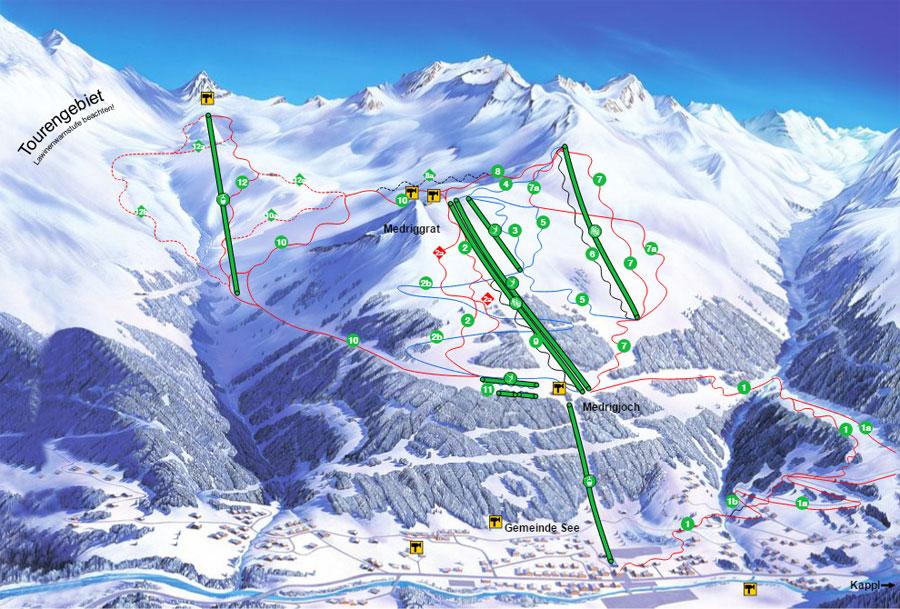 Skigebiet See / Paznaun-Ischgl